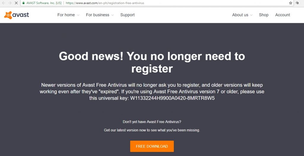 avast free antivirus for pc xp